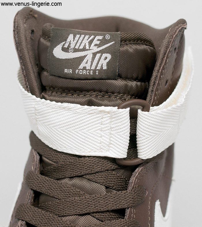 Men\s Footwear 2016 Chocolate Nike Air Force 1 Hi Retro QS 003061 | 100 QualityDiscount Basal Save up to High CJMPQVY147