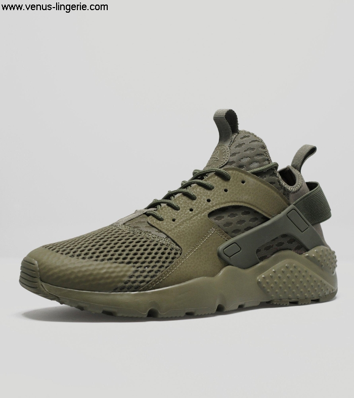 Mens Footwear 2016 Olive Green Nike Huarache Run Ultra Breathe 203827 | 100 quality Panegyrize Online guaranteeSale AEIOPSVZ68