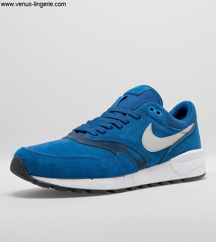Mens Footwear 2016 Superior Blue Nike Air Odyssey 177018 GenuineShop Leather 100 | AHJMQUXZ79
