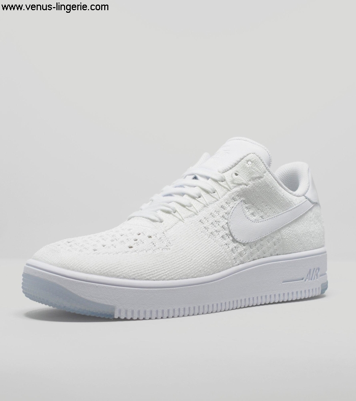 Mens Footwear 2016 White Nike Air Force 1 Flyknit Low 014674 | Suggestion Guaranteeclassic Satisfaction trend 100 fashion IJMQRSTW29