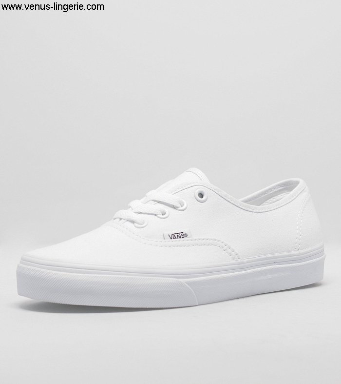 Women\s Elaborate Footwear 2016 True White Vans Authentic collection 024551 Salelargest Discount | IKMPQWX145