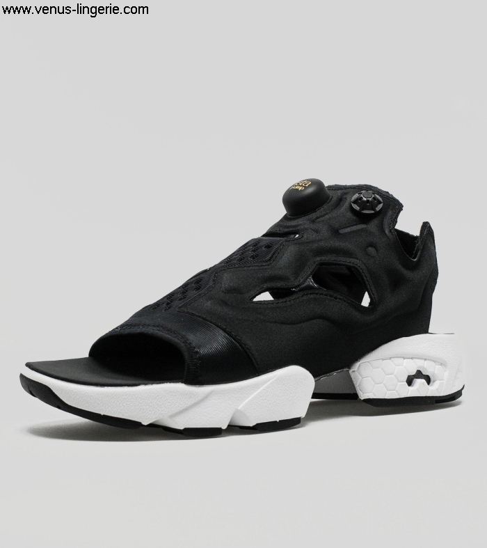 Womens Footwear 2016 Black Reebok InstaPump Fury Sandal 057407 top | Coupon Outlet 100 qualityFactory BDEGJOR056