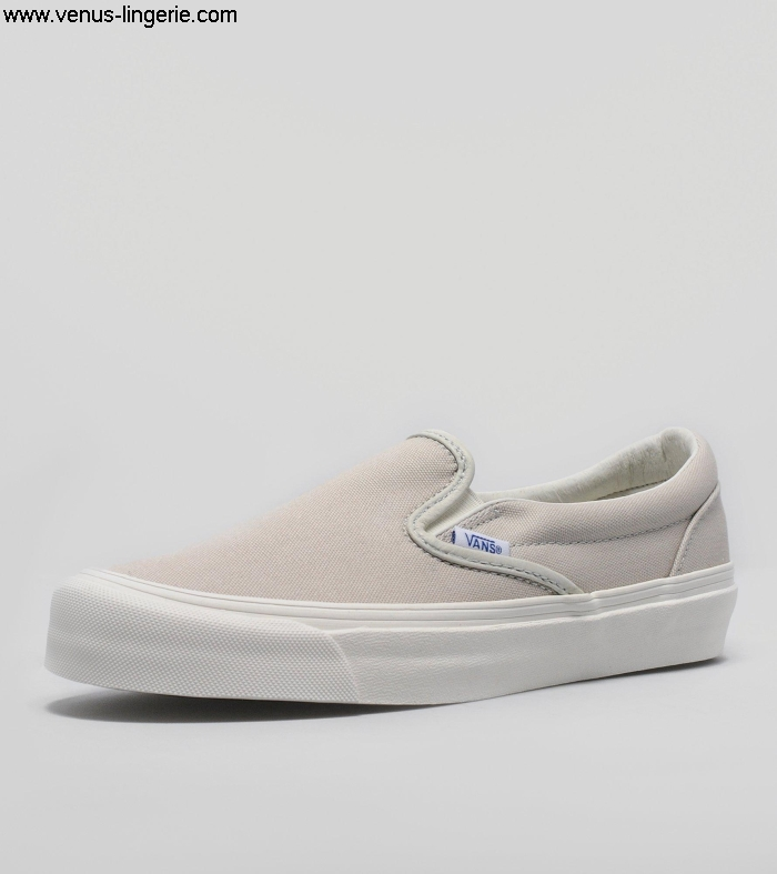 Women\s Introduce Footwear 2016 Grey Vans Vault OG Slip-On 211671 | 100 online qualityUSA top shop official ACFSY14569